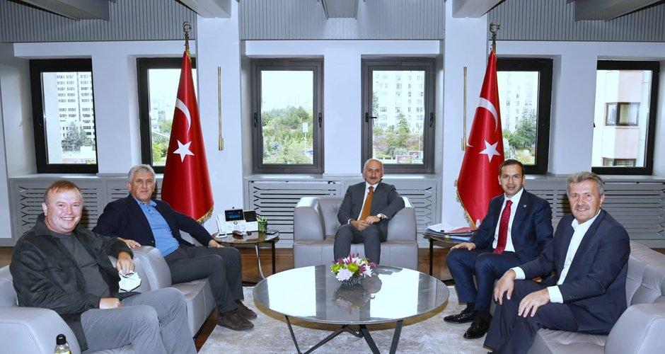 Başkan Sarıalioğlu, Of için her kapıyı çalıyor