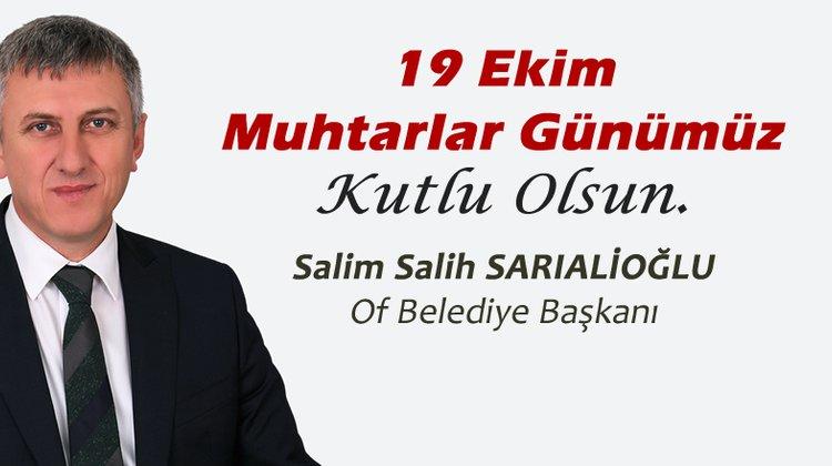 """Başkan Sarıalioğlu, """"Muhtarlar Yerel Demokrasinin Vazgeçilmezidir"""""""