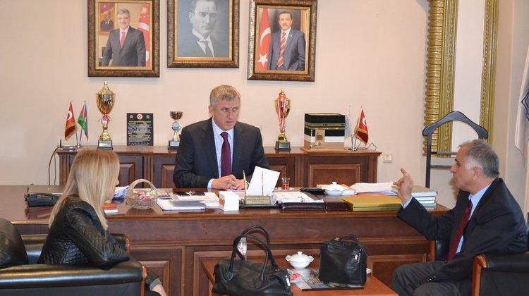 Tüm Bel-Sen'den Başkan Sarıalioğlu'na ziyaret