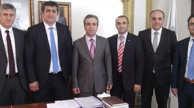 SGK Müdürlerinden Başkan Sarıalioğlu'na ziyaret