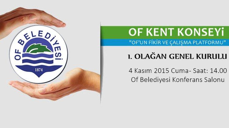 Of Kent Konseyi Kuruluyor