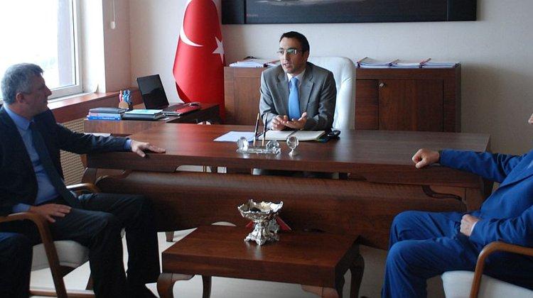 Başkan ve Meclis Üyelerimizden Kaymakam Arslan'a ziyaret