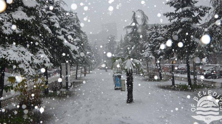 Of Belediyesi'nden Kar Uyarısı