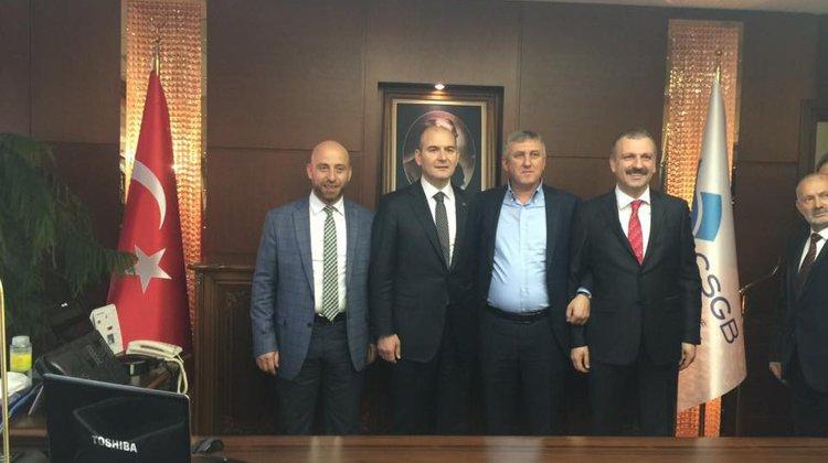 Başkan Sarıalioğlu'ndan Hayırlı Olsun Ziyaretleri