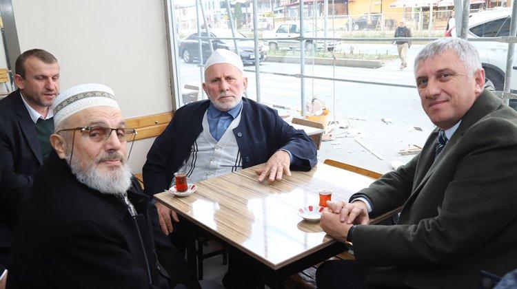 Başkan Sarıalioğlu Çözüm yollarını birlikte istişare ediyoruz