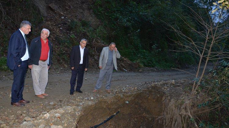 Başkan Sarıalioğlu, Yeni Mahalle Mahallesi'nde İncelemelerde Bulundu