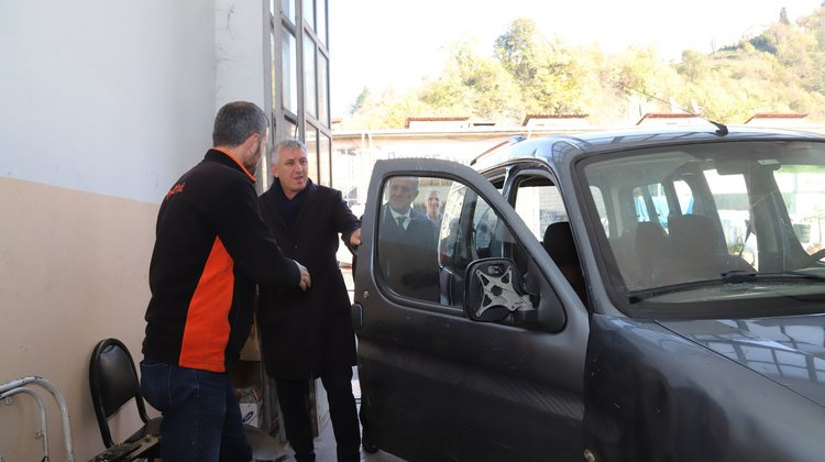 Başkan Sarıalioğlu'ndan Sanayi Esnafına Ziyaret