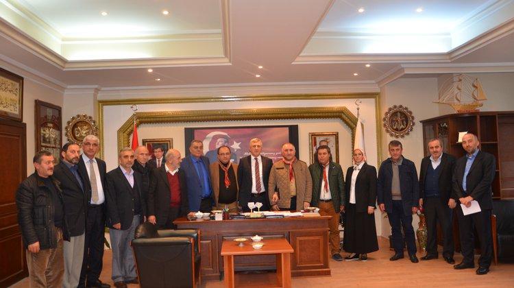 Orhangazi Belediyesi'nden Of Belediyesi'ne Ziyaret