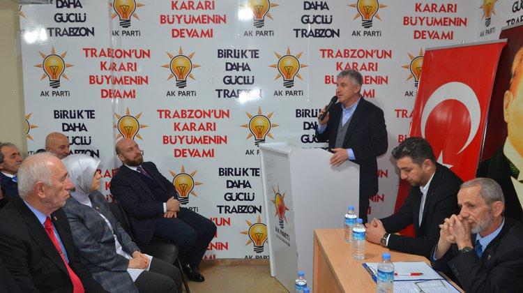 """Başkan Sarıalioğlu, """"Bizler sizin hakiminiz değil, hadiminiziz"""""""