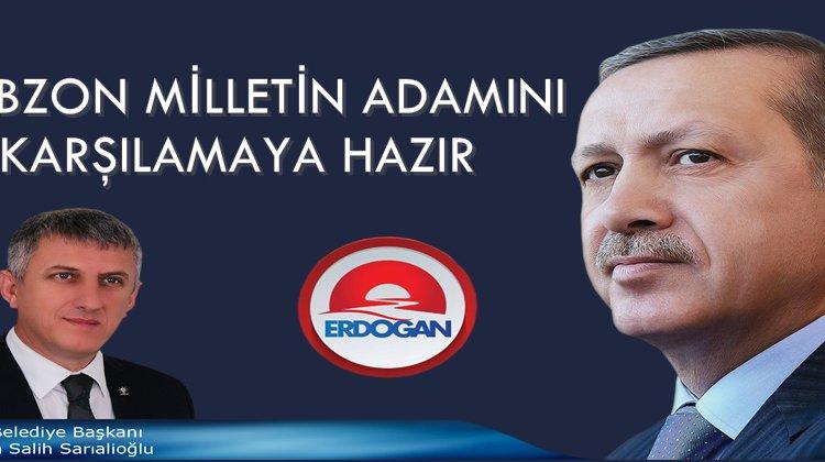 Başkan Sarıalioğlu'ndan Cumhurbaşkanımızın Trabzon ziyareti daveti