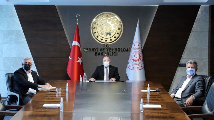 Başkan Sarıalioğlu Ankara'da Temaslarda Bulundu