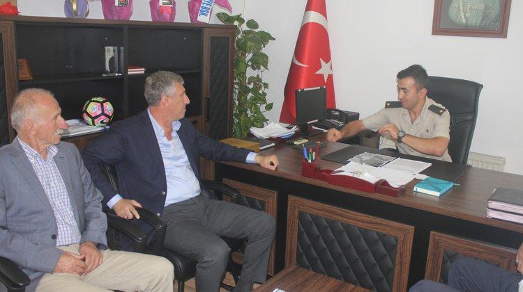 Başkan Sarıalioğlu'ndan Komutan Tanrıverdi'ye Ziyaret