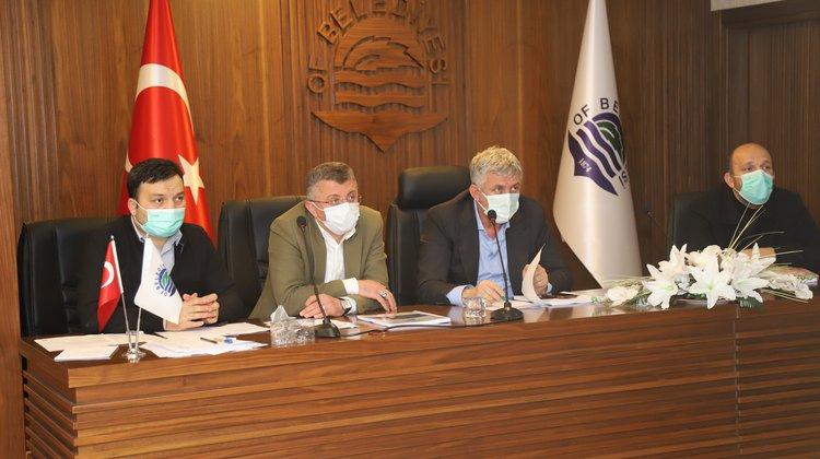 Of Belediyesi Nisan Ayı Meclis Toplantısının Birinci ve İkinci Oturumu Yapıldı