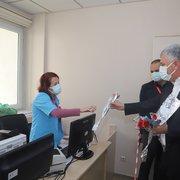 Başkan Sarıalioğlu'ndan Doktorlara bayram ziyareti