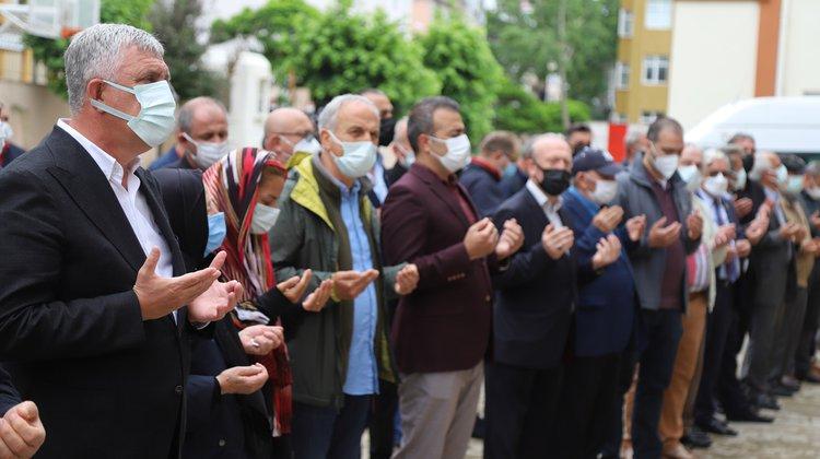 Oflu hayırsever işadamı Sarıalioğlu, son yolculuğuna uğurlandı