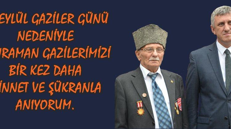 Başkan Sarıalioğlu'nun 'Gaziler Günü' mesajı