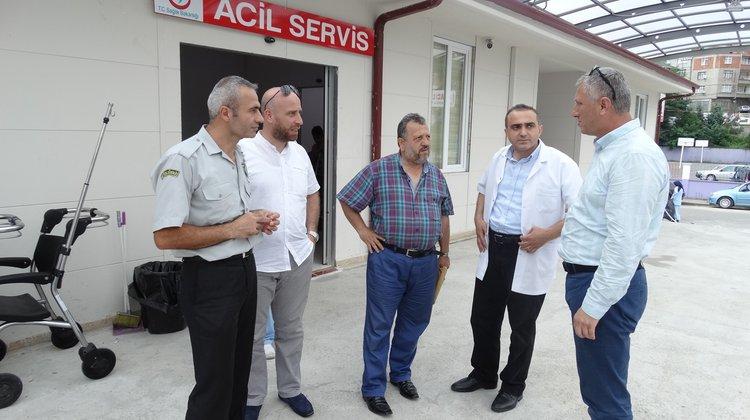 Of Devlet Hastanesi'nin yenilenen acil servisi hizmete girdi