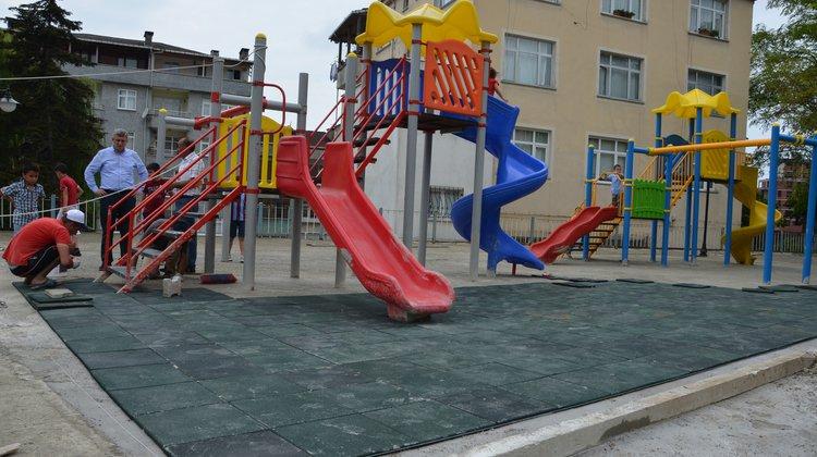 Keçiören çocuk parkı yenilendi