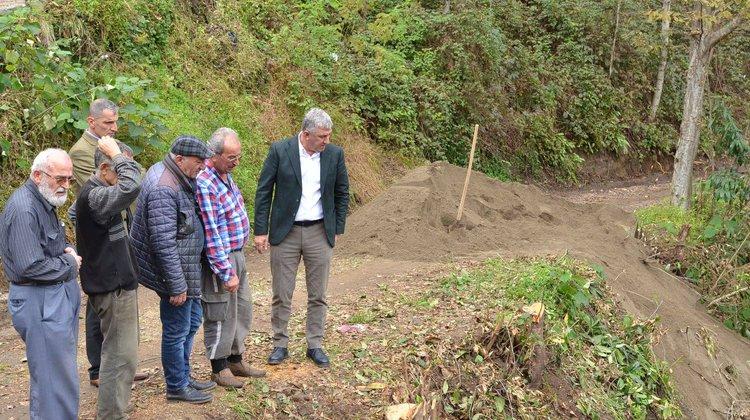 Başkan Sarıalioğlu Yukarıkışlacık Mahalle Muhtarı ile buluştu