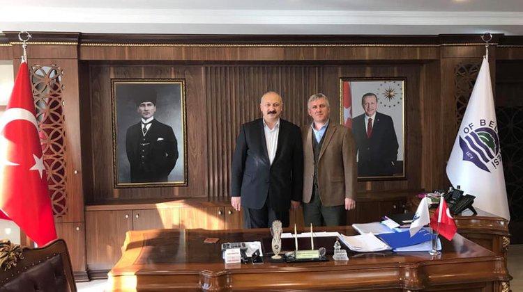Araklı Belediye Başkanı Sayın Recep Çebi Belediyemizi ziyarette bulundu.