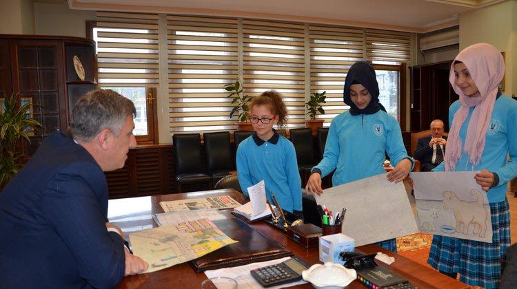 Doğanın Koruyucularından Başkan Sarıalioğlu'na Ziyaret