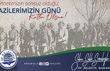 Başkan Sarıalioğlu'ndan 'Gaziler Günü' mesajı