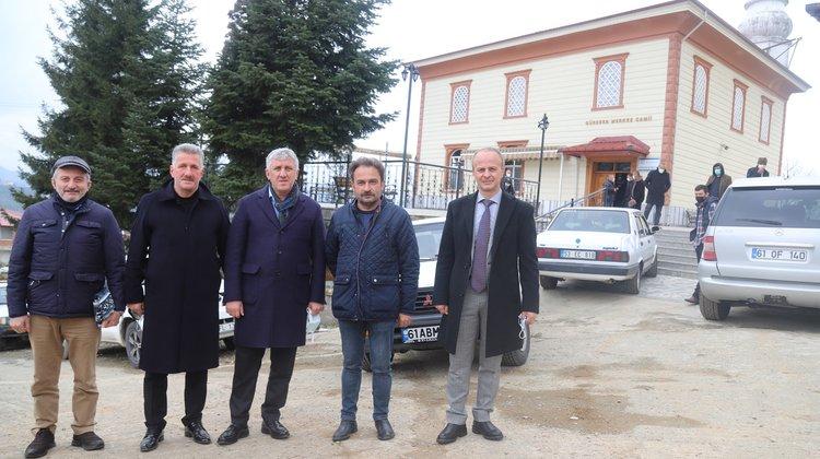 Başkan Sarıalioğlu Güresen Mahallesi'nde Cuma Buluşmasına Katıldı