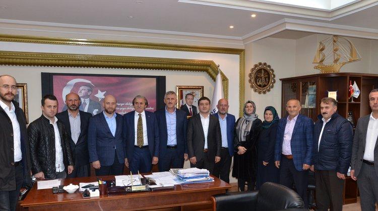 AK Parti Of Teşkilatı Başkan Sarıalioğlu'nu Ziyaret Etti